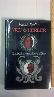 VICO AND HERDER by Isaiah Berlin