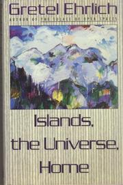 Book Cover for ISLANDS, THE UNIVERSE, HOME
