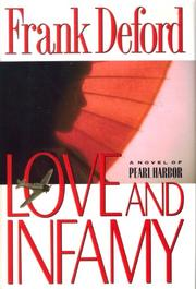 LOVE AND INFAMY by Frank Deford