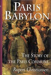 PARIS BABYLON by Rupert Christiansen