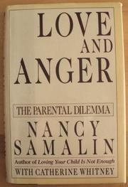 LOVE AND ANGER by Nancy Samalin