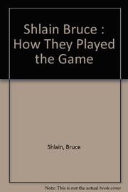 BASEBALL INSIDE OUT by Bruce Shlain
