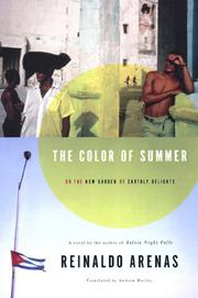 THE COLOR OF SUMMER by Reinaldo Arenas