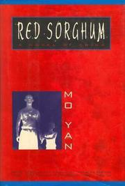 Book Cover for RED SORGHUM