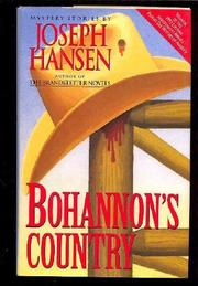 BOHANNON'S COUNTRY by Joseph Hansen
