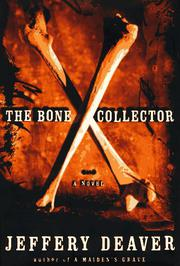 Cover art for THE BONE COLLECTOR