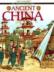 ANCIENT CHINA by Brian Williams