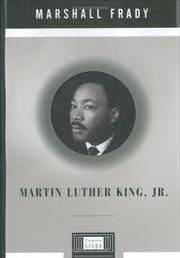 Cover art for MARTIN LUTHER KING, JR.