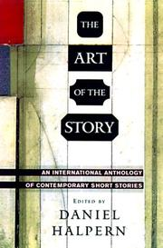 THE ART OF THE STORY by Daniel Halpern