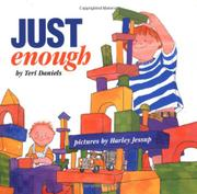 Cover art for JUST ENOUGH