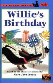 WILLIE'S BIRTHDAY by Anastasia Suen