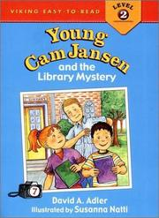 YOUNG CAM JANSEN AND THE LIBRARY MYSTERY by David A. Adler