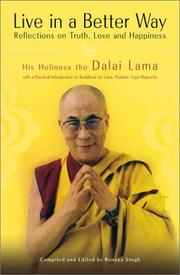 LIVE IN A BETTER WAY by Dalai Lama