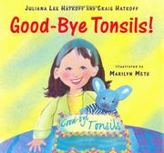 GOOD-BYE, TONSILS by Craig Hatkoff