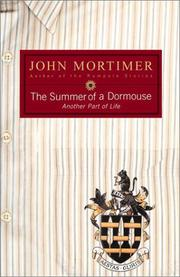Cover art for THE SUMMER OF A DORMOUSE