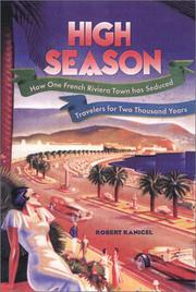HIGH SEASON by Robert Kanigel