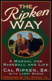 THE RIPKEN WAY by Sr. Ripken
