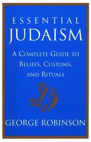 ESSENTIAL JUDAISM by George Robinson