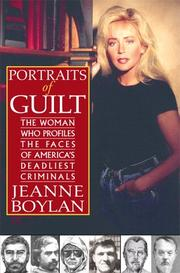 PORTRAITS OF GUILT by Jeanne Boylan