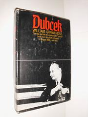 DUBCEK by William Shawcross