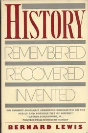HISTORY by Bernard Lewis