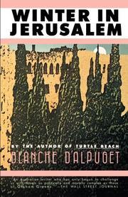 WINTER IN JERUSALEM by Blanche d'Alpuget