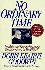 Cover art for NO ORDINARY TIME