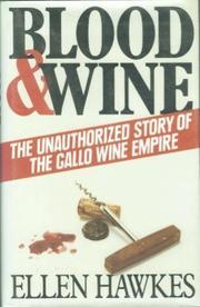 BLOOD AND WINE by Ellen Hawkes