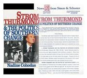 STROM THURMOND AND THE POLITICS OF SOUTHERN CHANGE by Nadine Cohodas