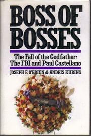 BOSS OF BOSSES by Joseph F. O'Brien