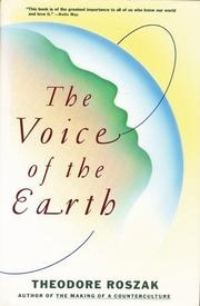 THE VOICE OF THE EARTH by Theodore Roszak