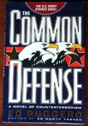 Cover art for THE COMMON DEFENSE