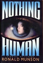 NOTHING HUMAN by Ronald Munson