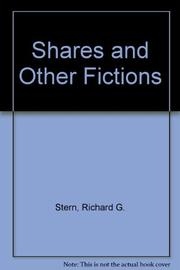 SHARES by Richard Stern