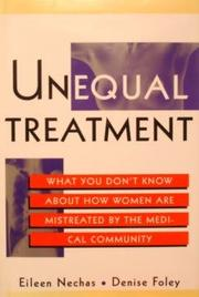 UNEQUAL TREATMENT by Eileen Nechas