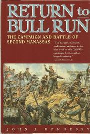 RETURN TO BULL RUN by John Hennessy
