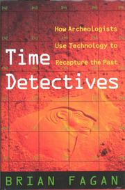 TIME DETECTIVES by Brian Fagan