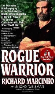 ROGUE WARRIOR by Richard with John Weisman Marcinko
