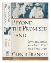 BEYOND THE PROMISED LAND by Glenn Frankel