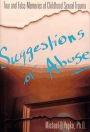 SUGGESTIONS OF ABUSE by Michael D. Yapko