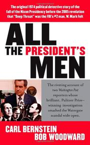 Book Cover for ALL THE PRESIDENT'S MEN