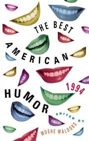 THE BEST AMERICAN HUMOR 1994 by Moshe Waldoks