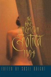 THE BEST AMERICAN EROTICA 1994 by Susie Bright