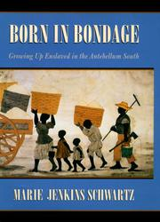 BORN IN BONDAGE by Marie Jenkins Schwartz