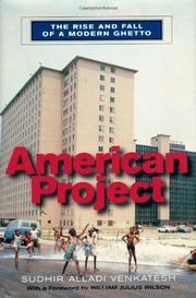 AMERICAN PROJECT by Sudhir Alladi Venkatesh