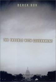 Cover art for THE TROUBLE WITH GOVERNMENT