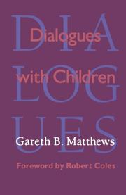 DIALOGUES WITH CHILDREN by Goreth B. Matthews