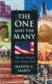 Cover art for THE ONE AND THE MANY