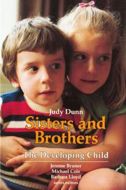 SISTERS AND BROTHERS by Judy Dunn