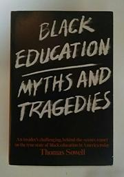 BLACK EDUCATION by Thomas Sowell
